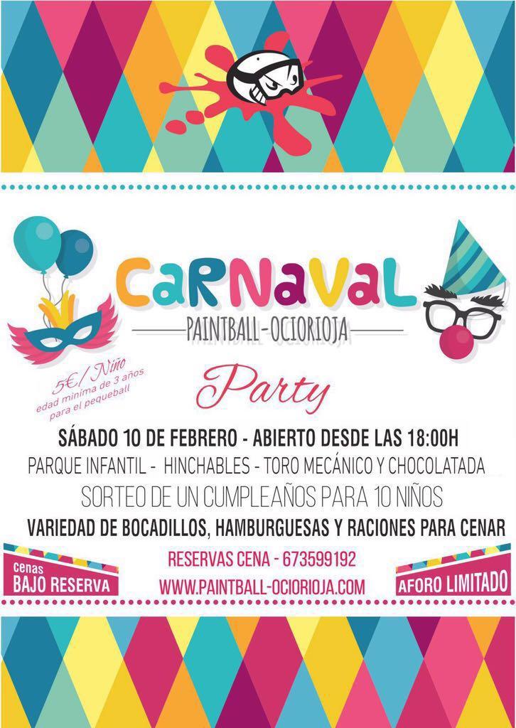 fiesta de carnaval en logroño la rioja 2018