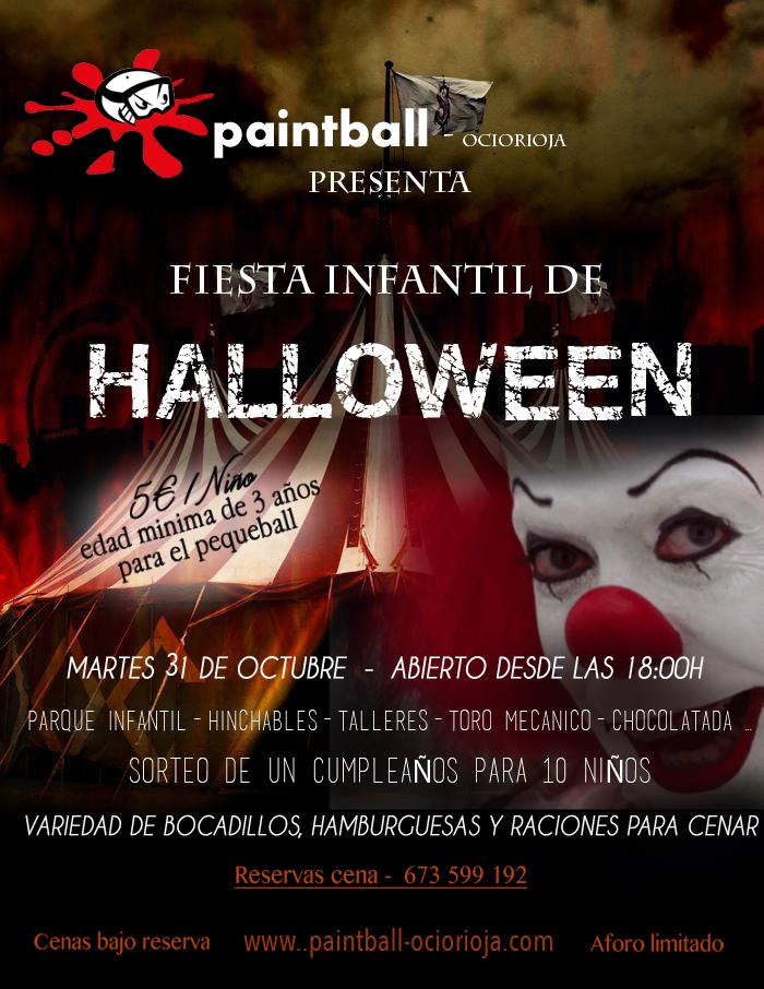 Fiesta Halloween en Logroño La Rioja Lardero