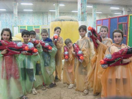 El Cumple Paintball Infantil del chiquipark paintball ociorioja es uno de los mejores cumpleaños infantiles de logroño