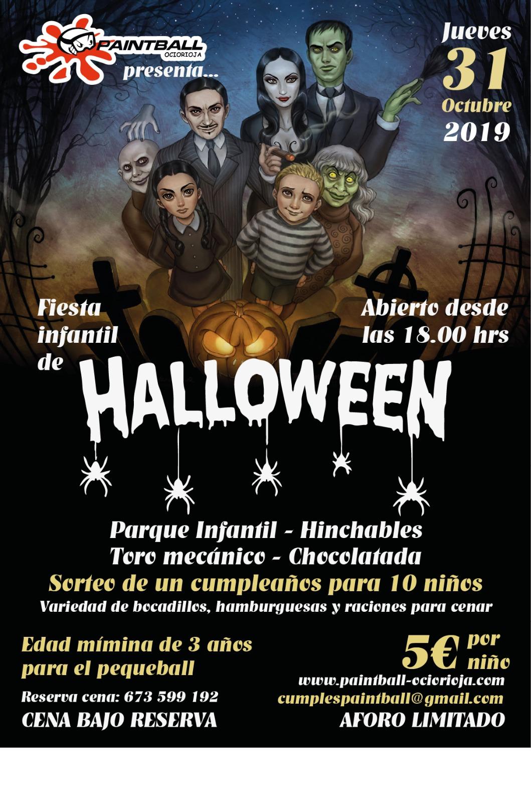 halloween Logroño fiesta 2019
